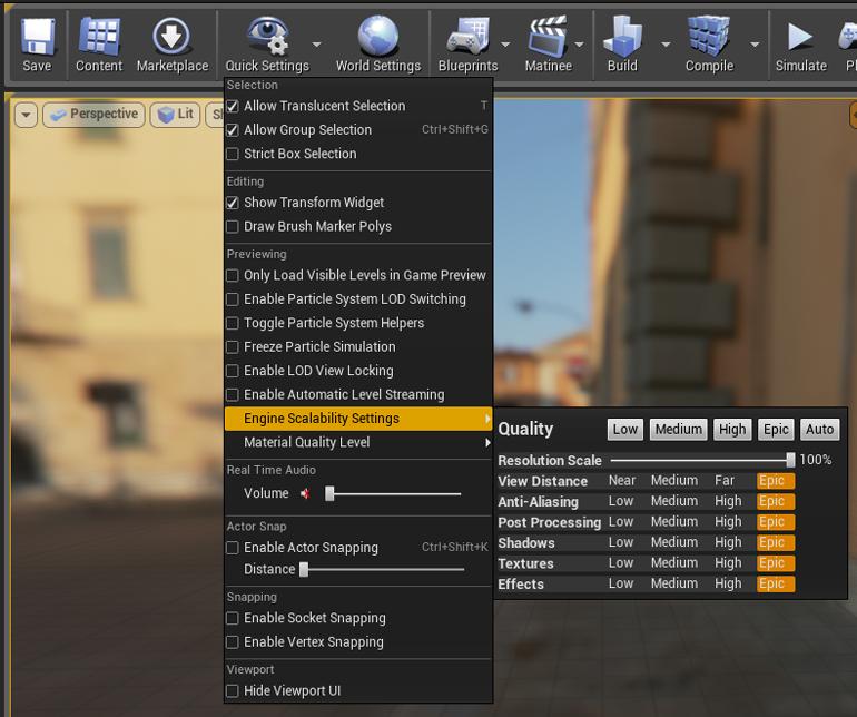 UE4-scalability-screen