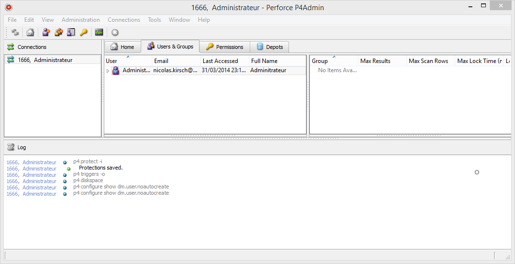 perforce-p4admin-interface