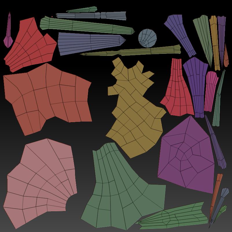 zbrush_tree_tutorial_uvmap