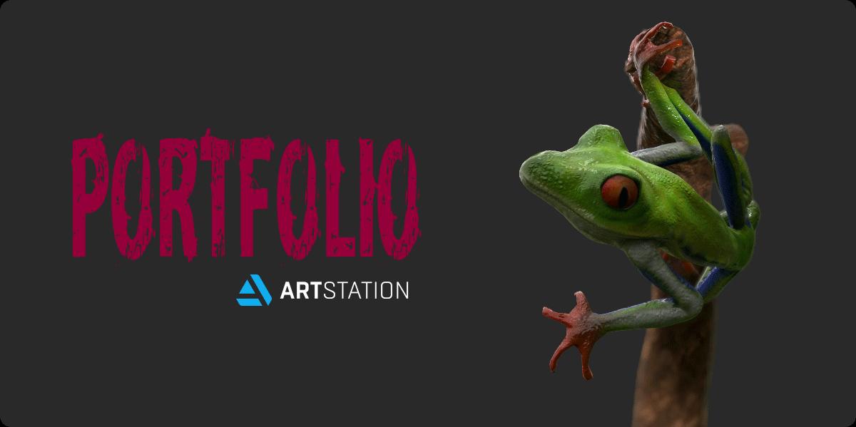 portfolio on ArtStation.com
