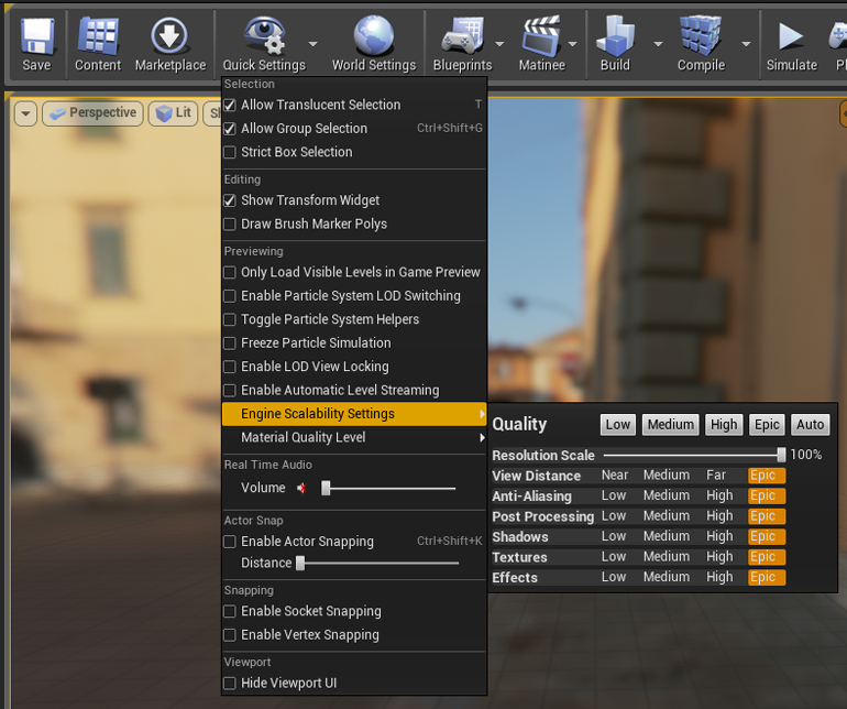 UE4-scalability-screen