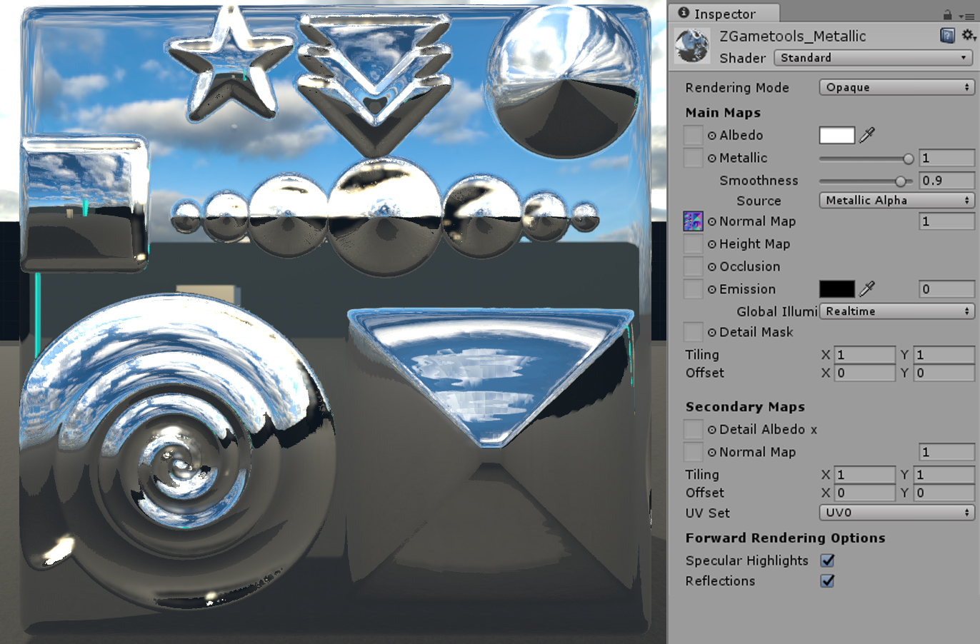 Unity Occlusion Mask