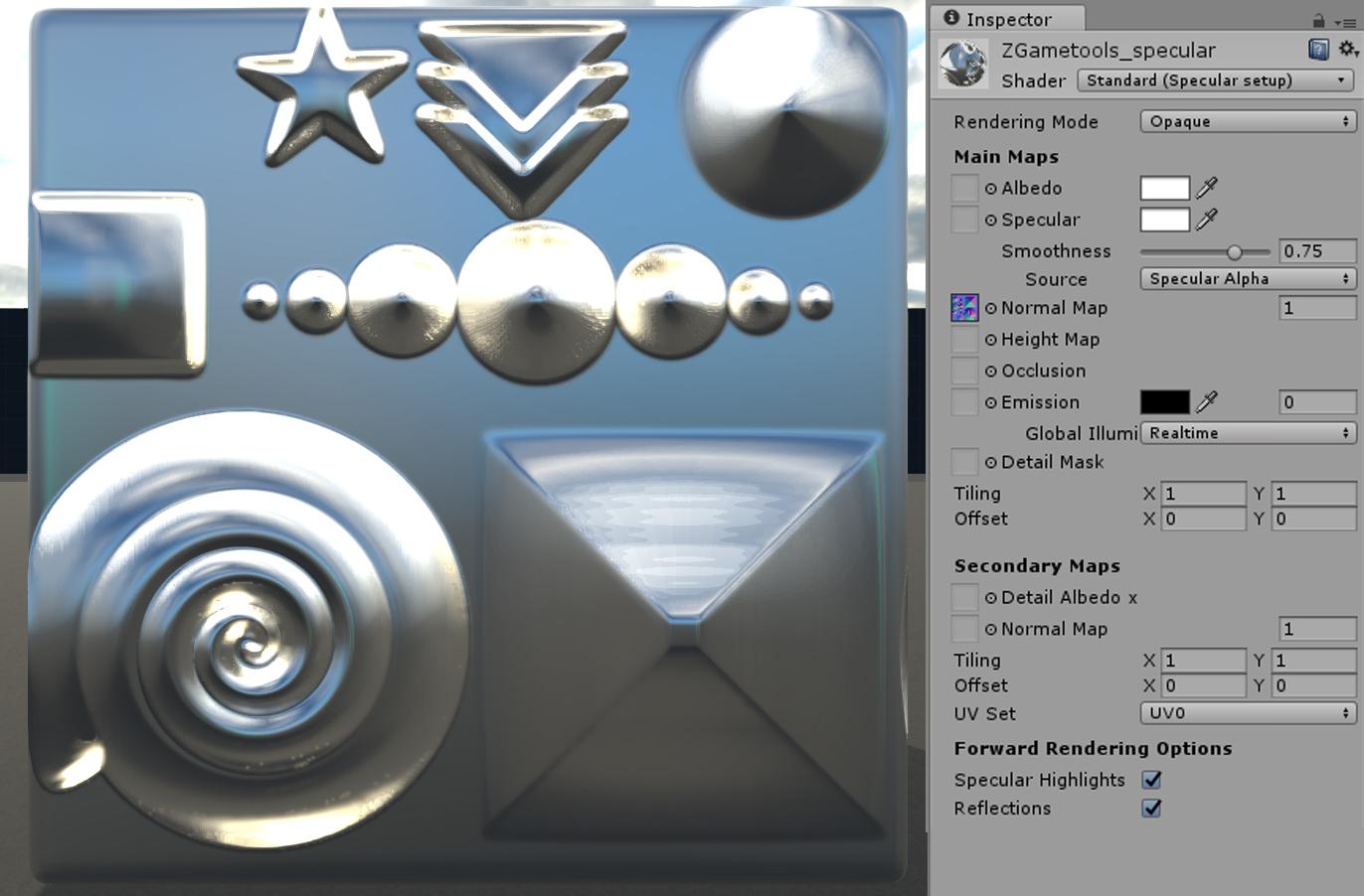 normal-map-unity3d-zgametools-pbs-specular | Puppet-Master